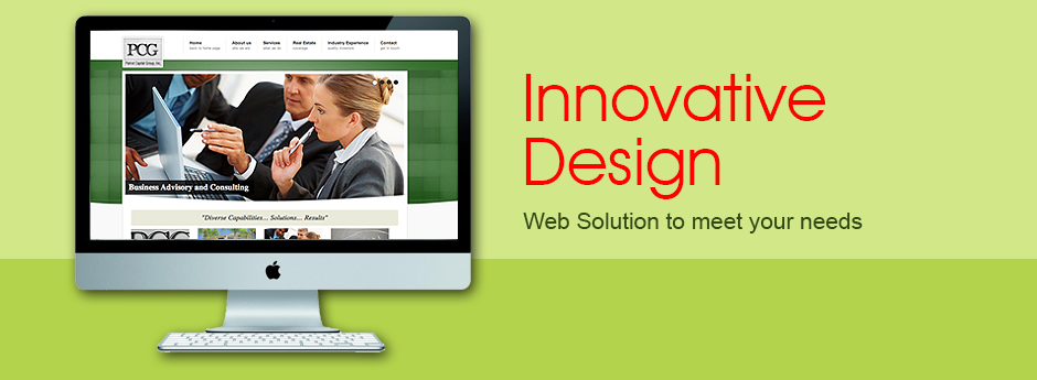 Web design and digital branding are one of the central services for Masslab Design Group